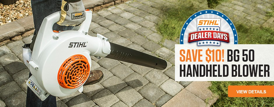 Save $10 on the BG 50 Handheld Blower!